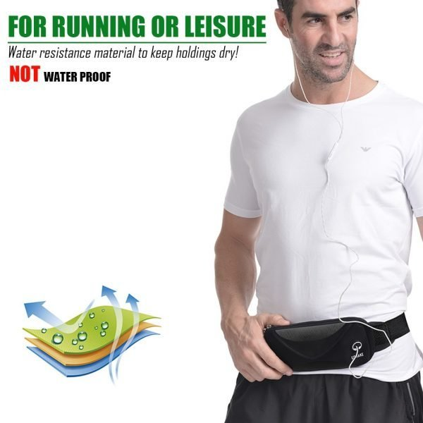 ushake men's running belt